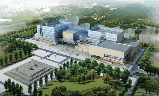 山西吕梁文化广场项目