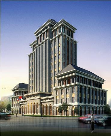 重庆北培区档案馆科技综合大楼