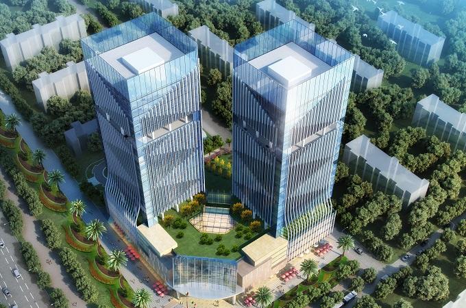 公共建筑-深圳美盈森大厦项目