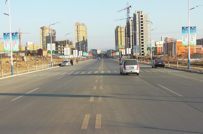 公路工程-平定嘉山路及评梅西街工程