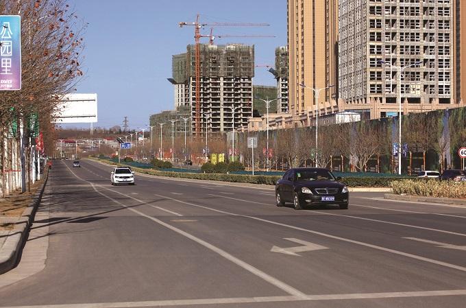 公路工程-晋城市东南出入口通道路面工程项目