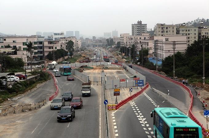 公路工程-深圳评西公路坪山至葵涌段扩建施工第一标段项目