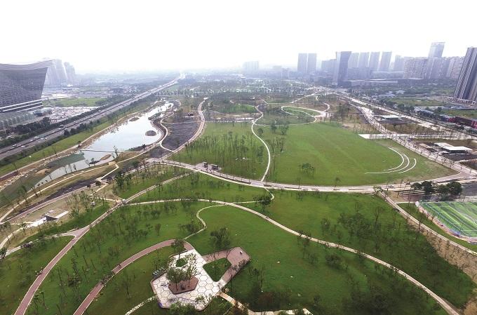 其他类型-成都桂溪生态公园项目