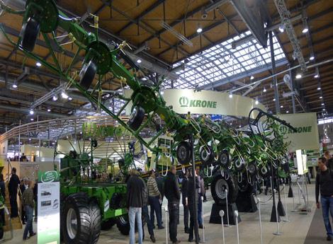 2011年11月德国汉诺威国际农业机械展览会9
