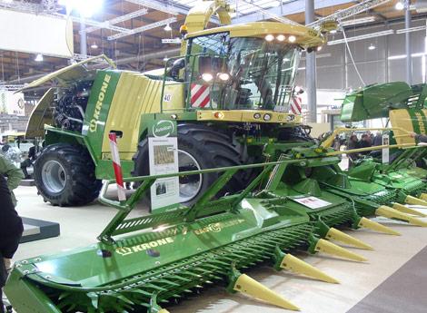 2011年11月德国汉诺威国际农业机械展览会10