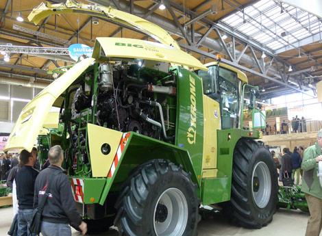2011年11月德国汉诺威国际农业机械展览会11
