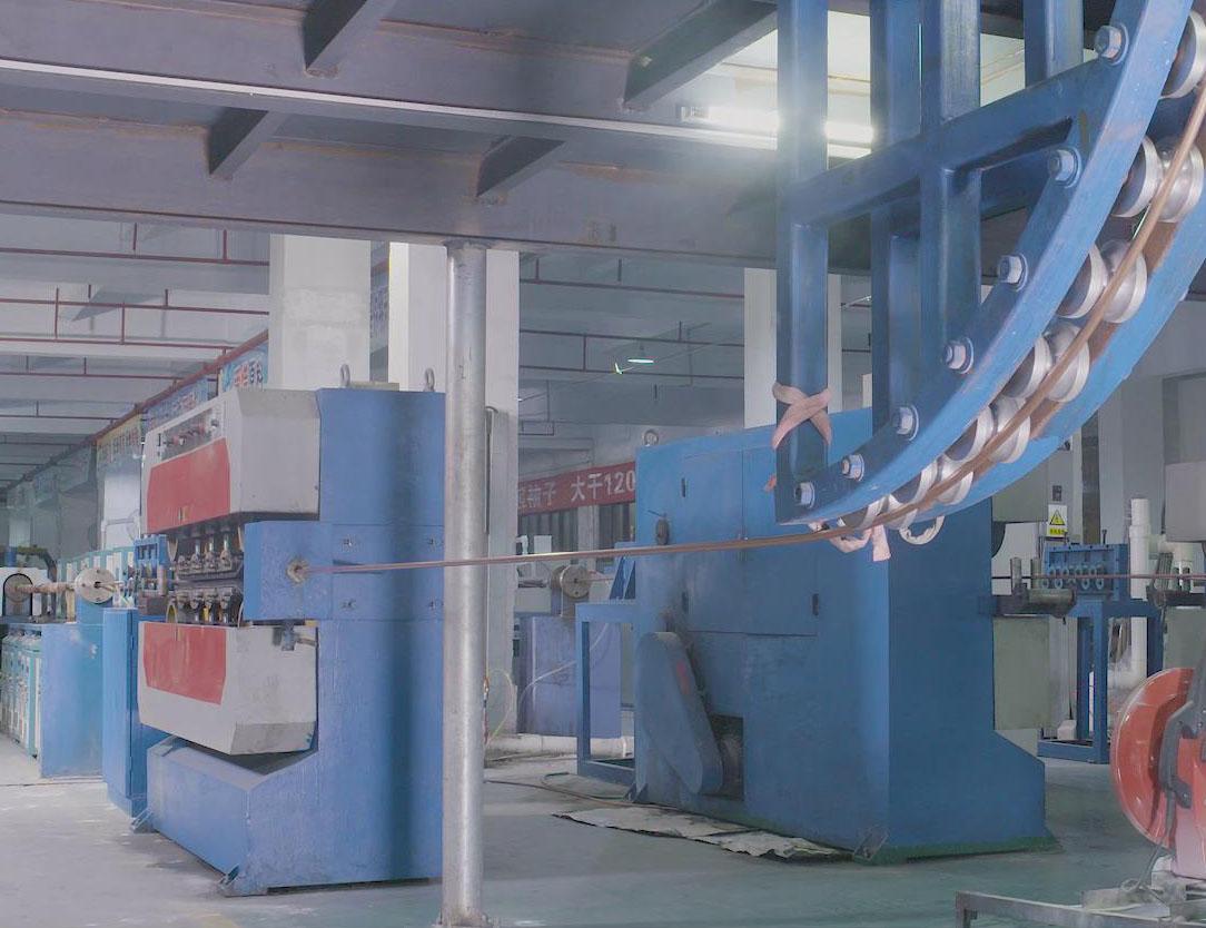 矿物绝缘电缆生产线-东莞市中亚电缆有限公司专业销售各类矿物绝缘电缆、防火电缆和BTTZ电缆