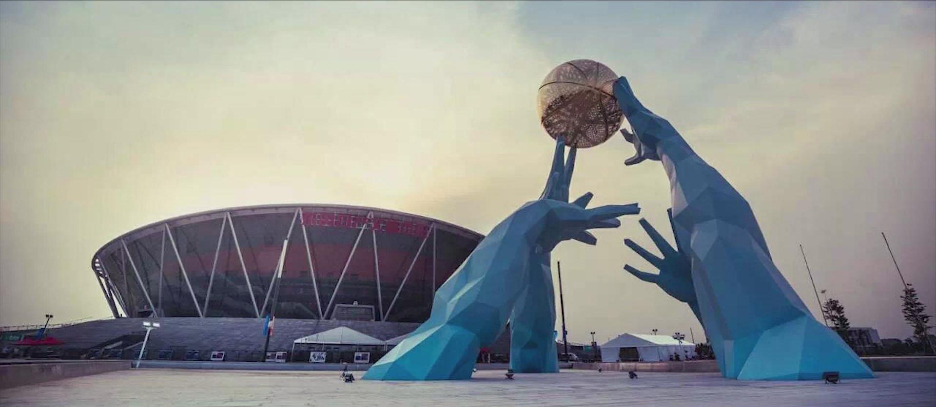 與部分典型民用建筑合作的項目-東莞CBA籃球中心