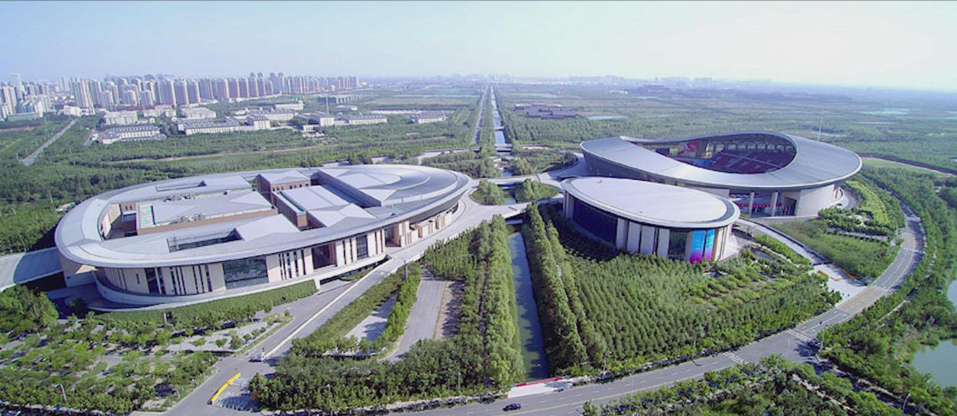 與部分典型民用建筑合作的項目-天津全運會場館