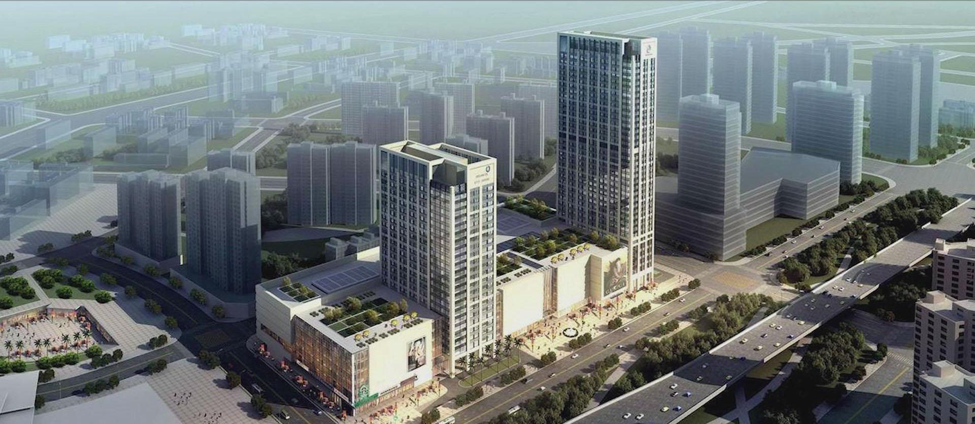 與部分典型民用建筑合作的項目-武漢泛海城市廣場
