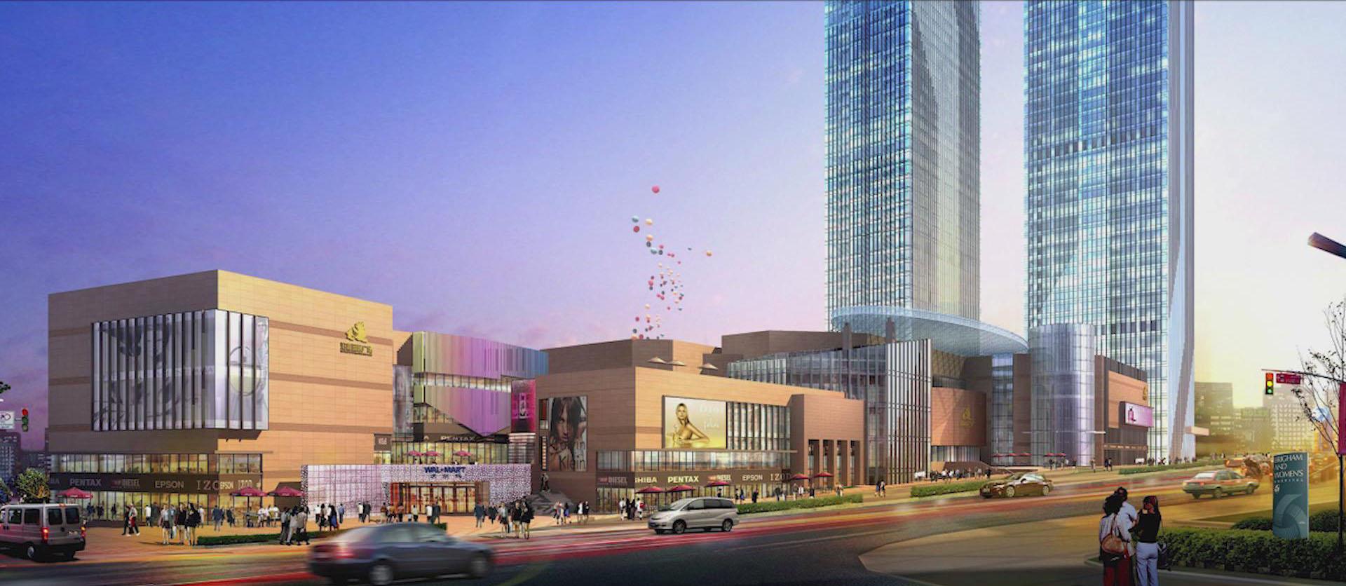 與部分典型民用建筑合作的項目-長沙泊富國際廣場
