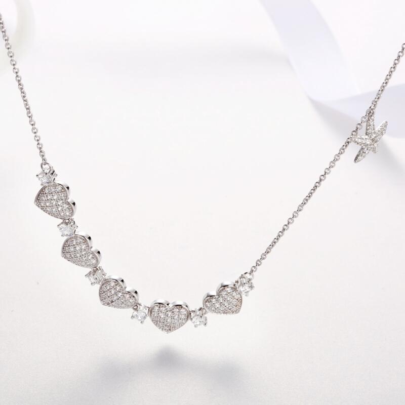 钻石心形、海星吊坠-IMG_0138