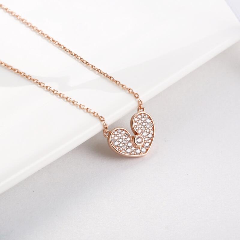 钻石心形吊坠-IMG_0225
