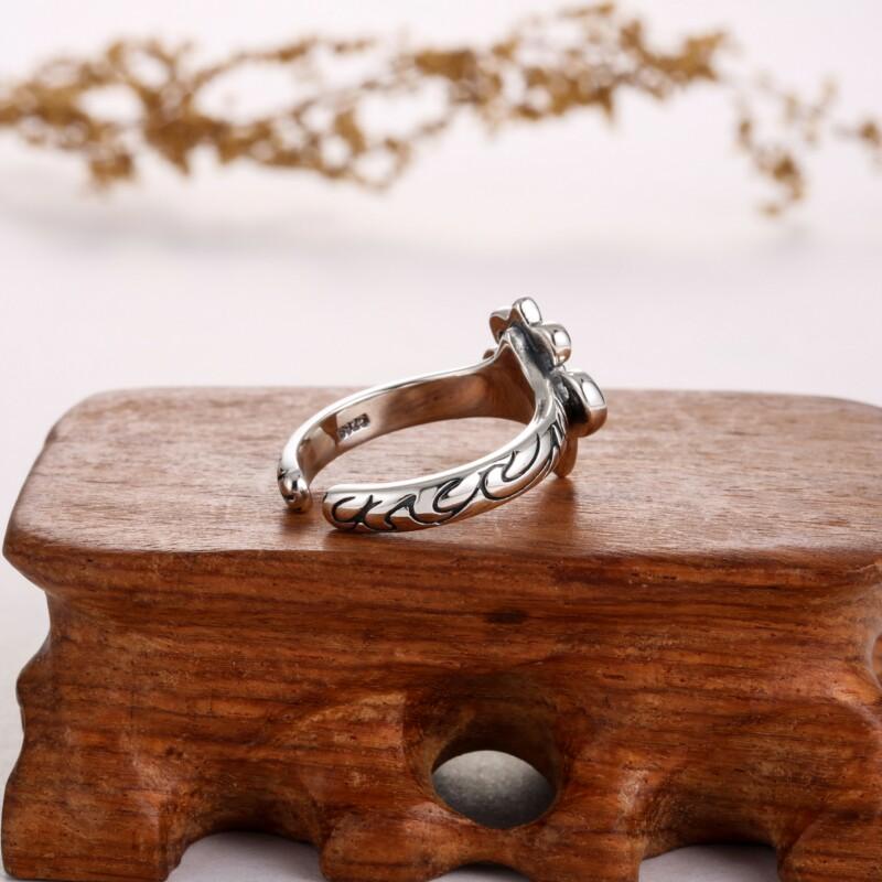 泰银戟型戒指-IMG_2361