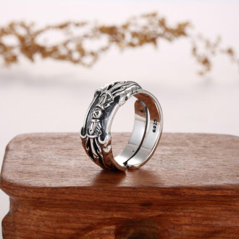 特色泰银戒指-IMG_2306