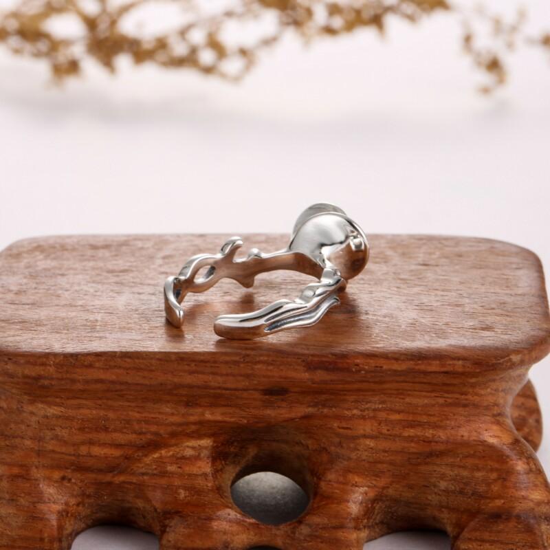 一支花泰银戒指-IMG_2356