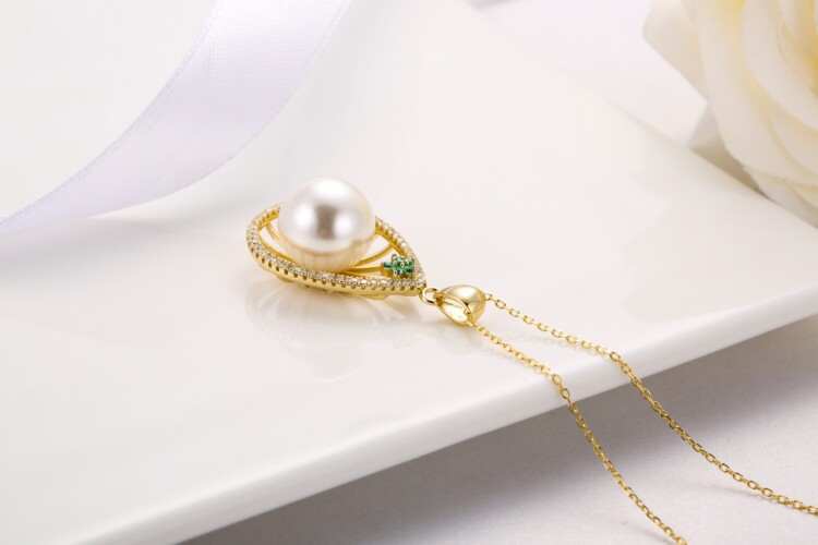 水滳形钻石珍珠吊坠-IMG_2737_1