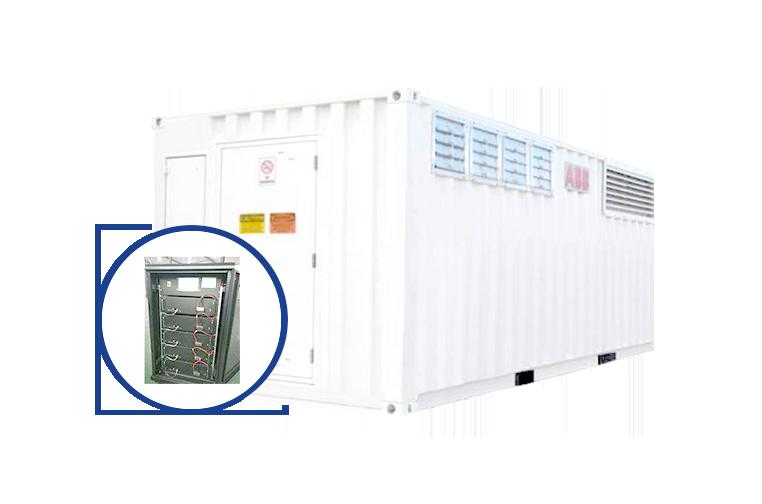 集裝箱儲能電池設備