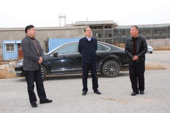 县委常委、政法委书记王健调研县公安局基层所建设