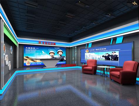 演播室封面-北京市公安局