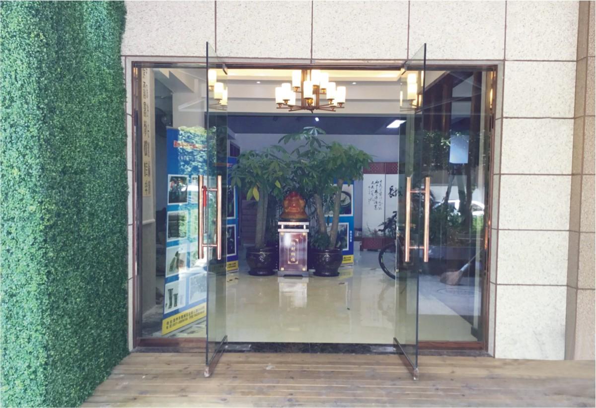 办公区入口