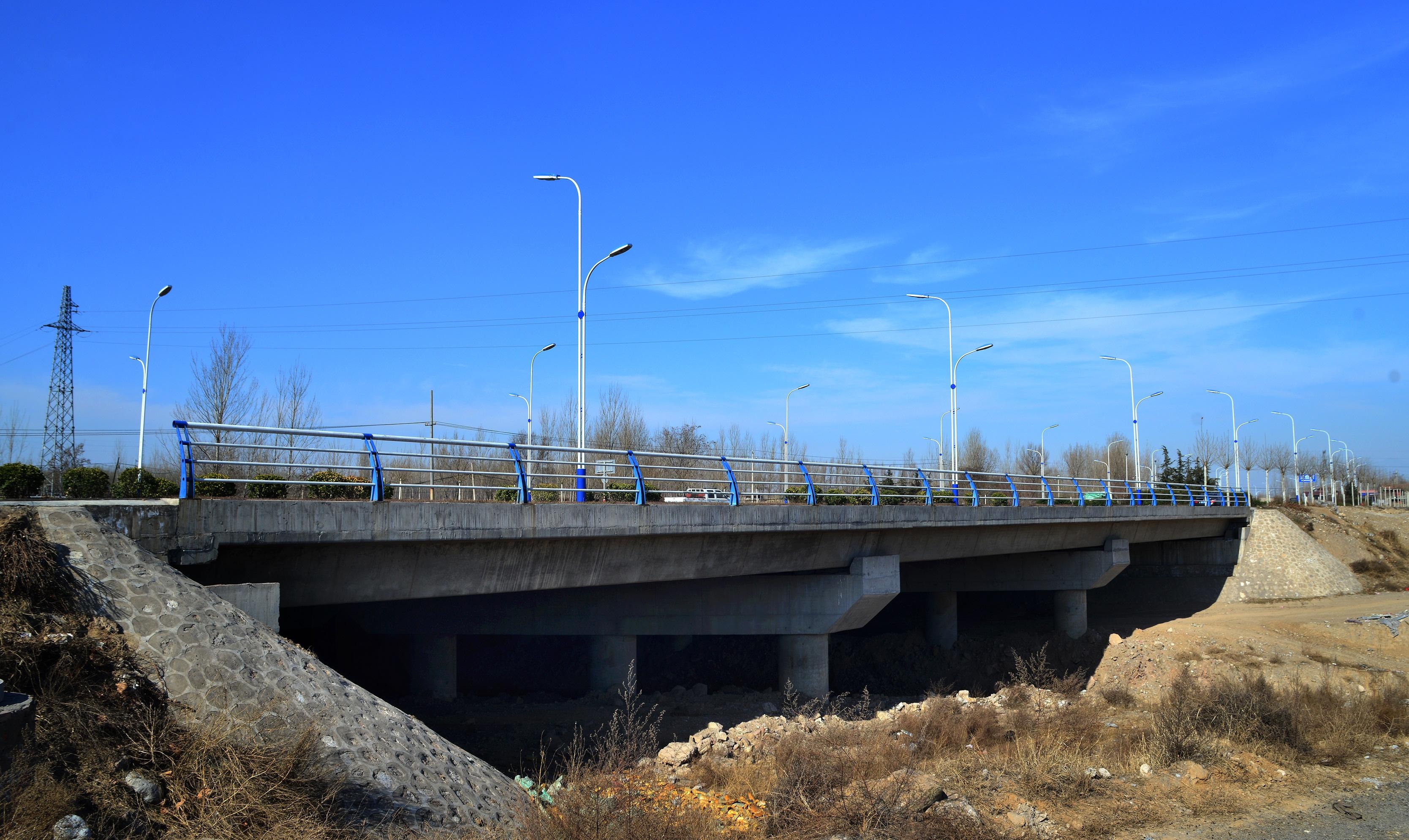 滨河西路北延-桃临线王曲桥工程