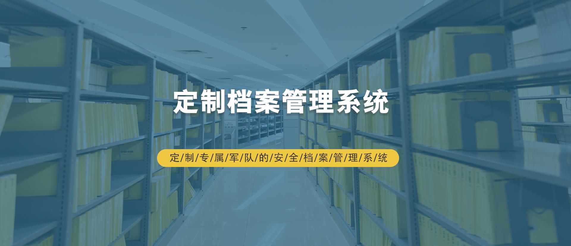 定制档案管理系统