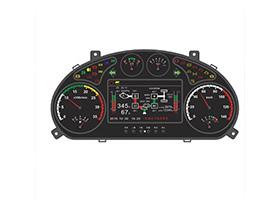 SPZB-T301系列工程車輛CAN總線組合儀表