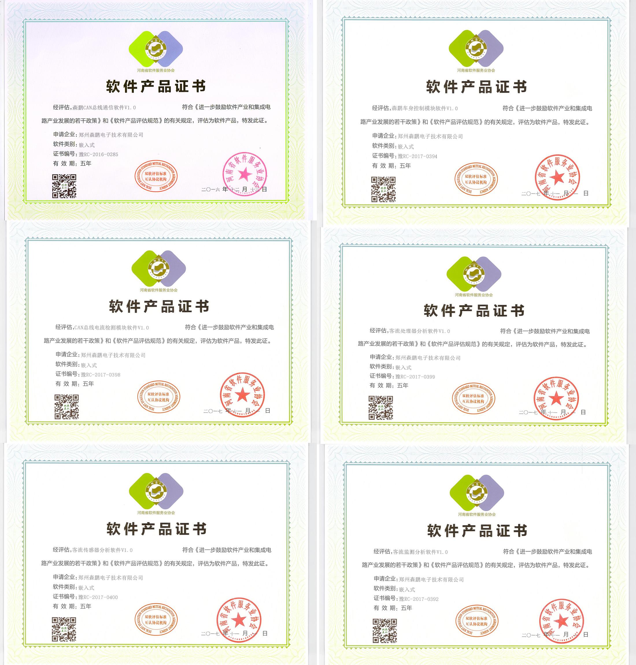 軟件產品證書