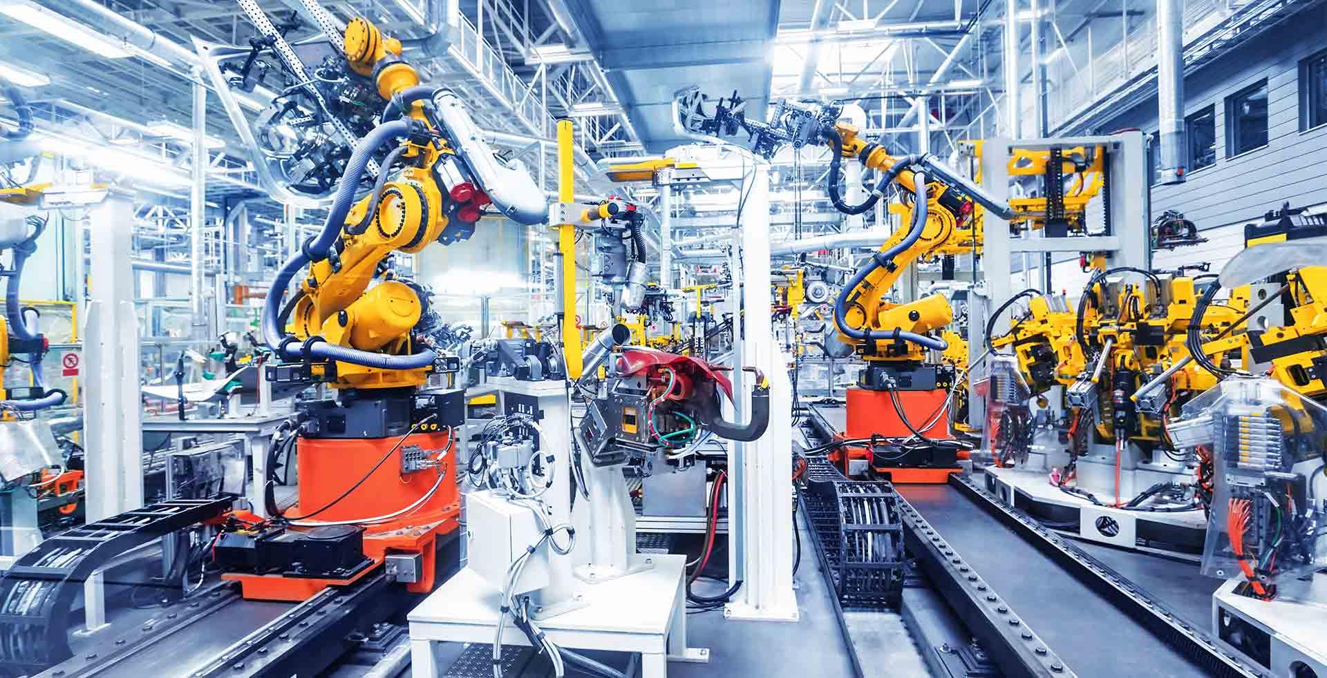 FANUC發那科機器人汽車車門焊接  X Robotics愛科思機器人x-ltd.com