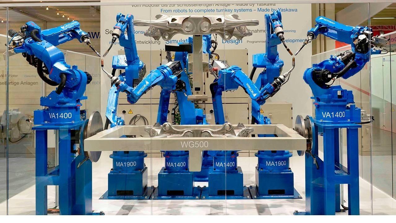 YASKAWA安川焊接機器人  X Robotics愛科思機器人x-ltd.com