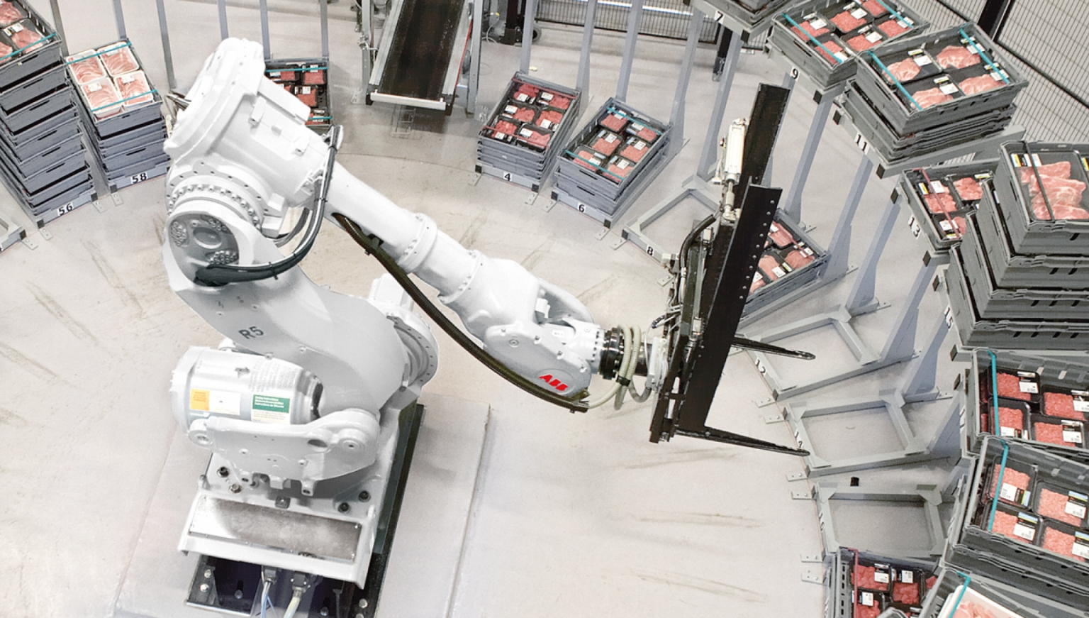 ABB機器人物流取件 X Robotics愛科思機器人x-ltd.com