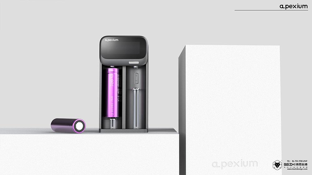 锂电池双槽充电盒-03