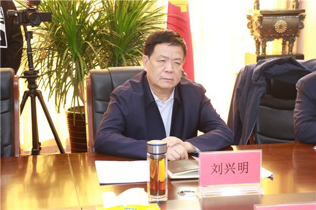 市委常委、市紀委書記、市監委主任劉興明來我校調研