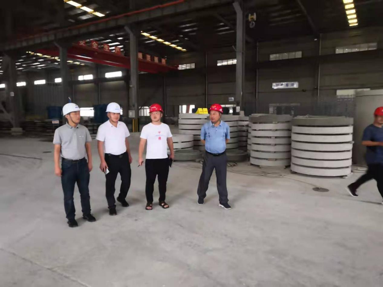 集團公司組織進行2021年8月份建設工程安全、質量和環境保護檢查