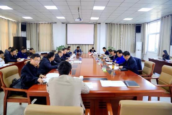 郭庆元主持召开2019年第33次重大项目调度会