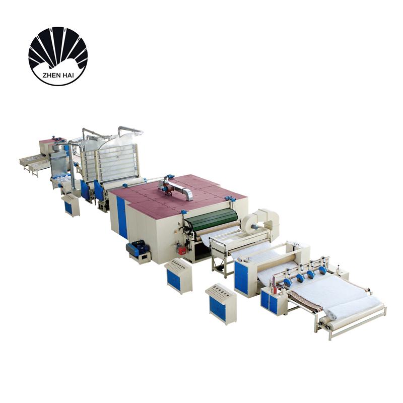 YWJM-1硬質棉無膠棉生產線