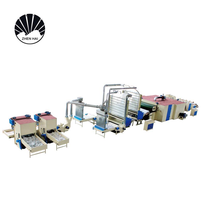 YWJM-1硬質棉無膠棉生產線-2