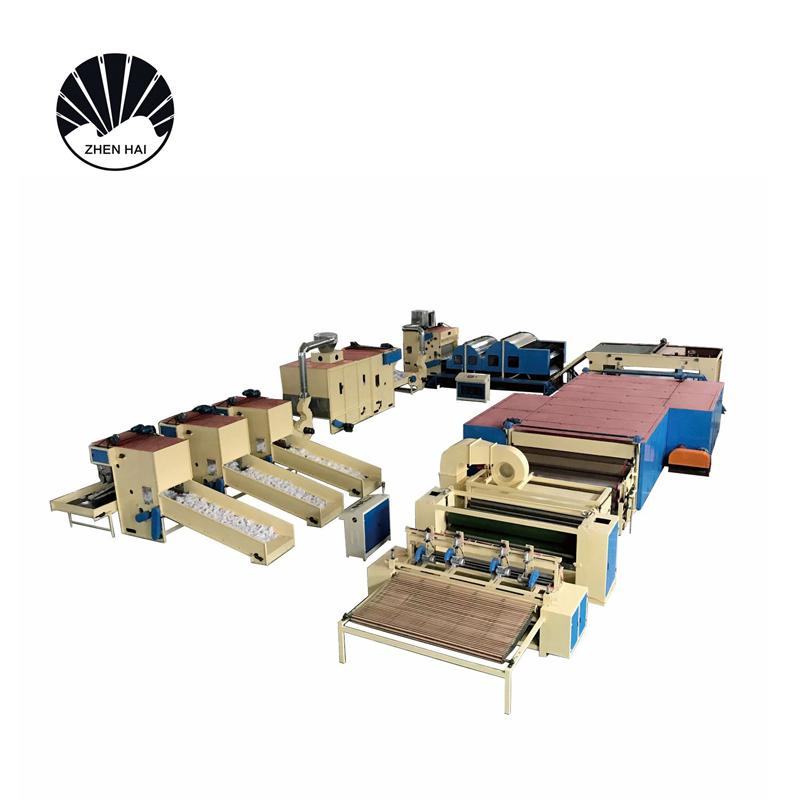 YWJM-2硬質棉無膠棉生產線-2