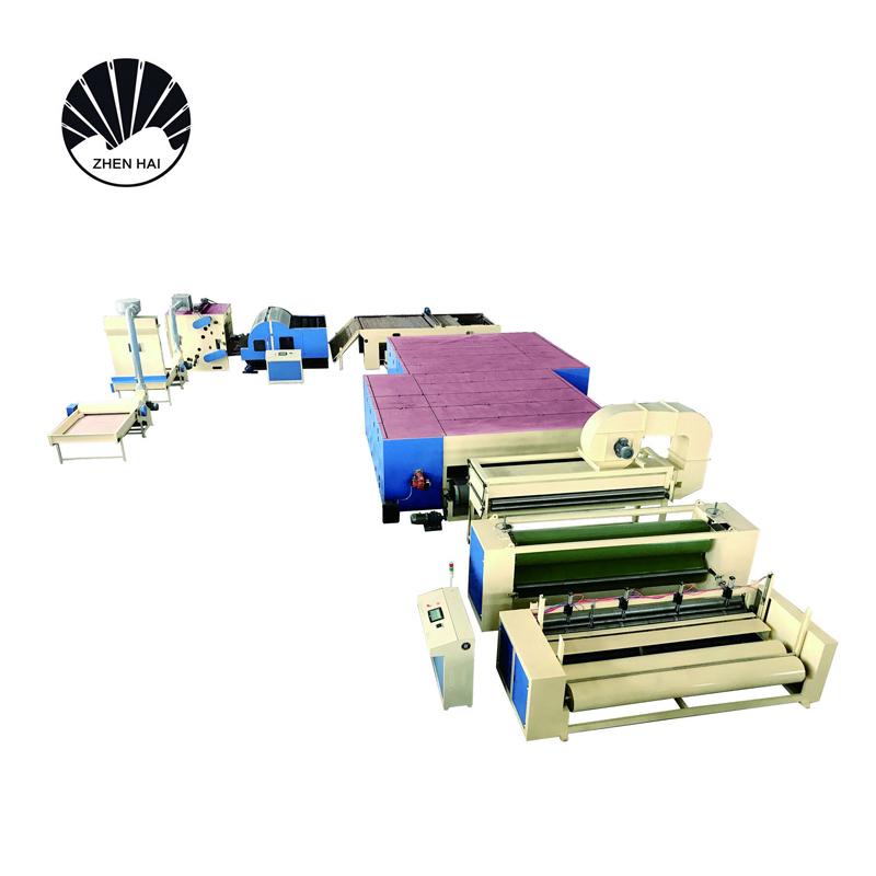 WJM-2型無膠棉生產線-柴油、天然氣