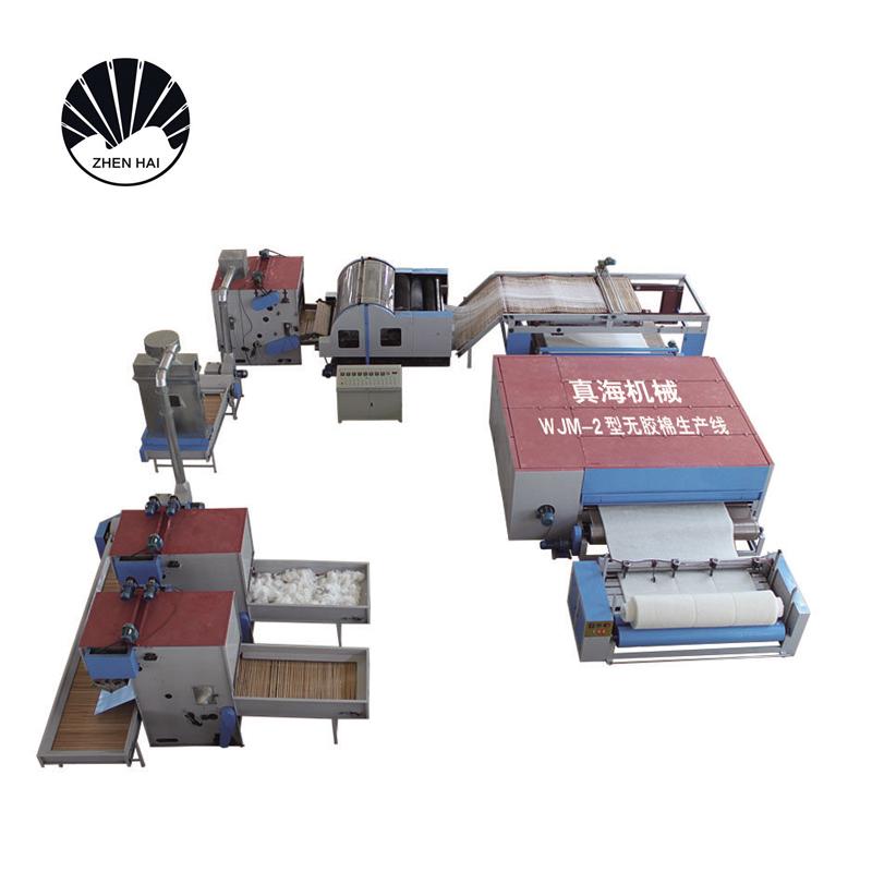 WJM-2型無膠棉生產線-柴油、天然氣加熱3