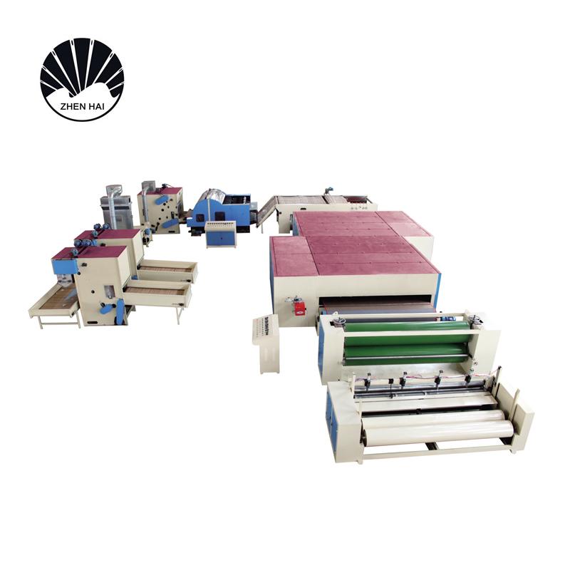 WJM-2型無膠棉生產線-柴油、天然氣加熱4