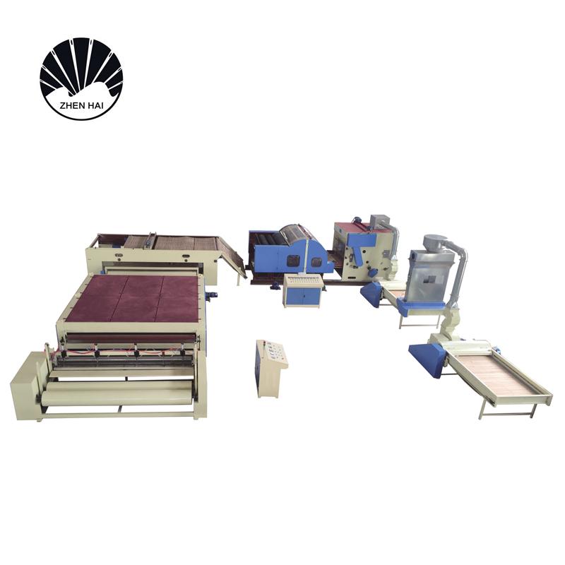 WJM-3型無膠棉生產線-電加熱無熱風