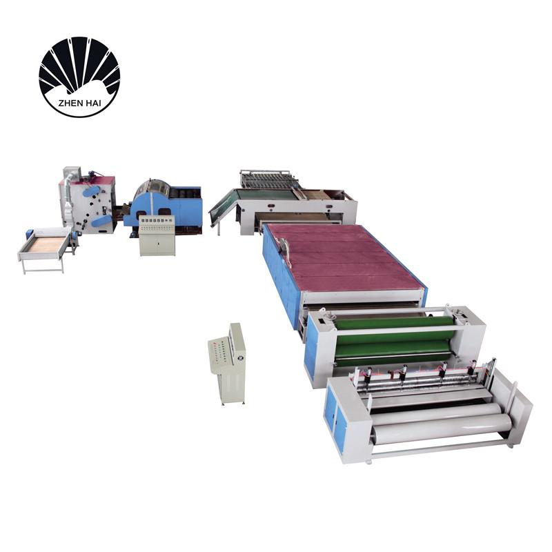 WJM-3無膠棉生產線-電加熱-被褥裝