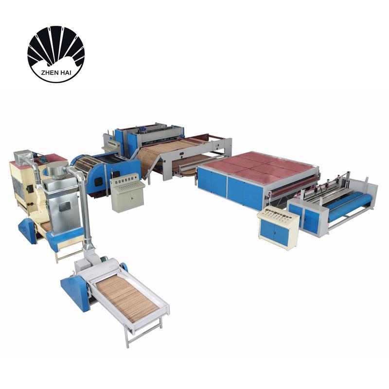 WJM-3無膠棉生產線