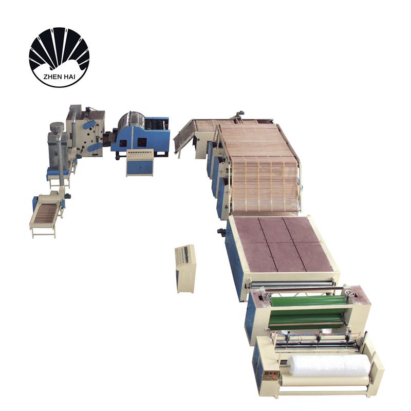WJM-3型無膠棉+ZCJ-1000針刺棉生產線