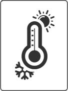 耐冷热图标