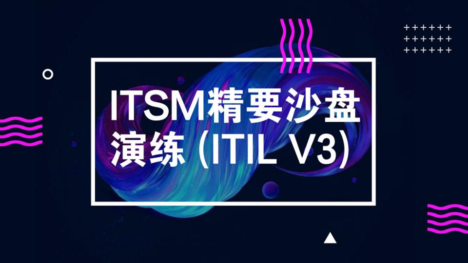 ITSM精要沙盘演练(ITILV3)