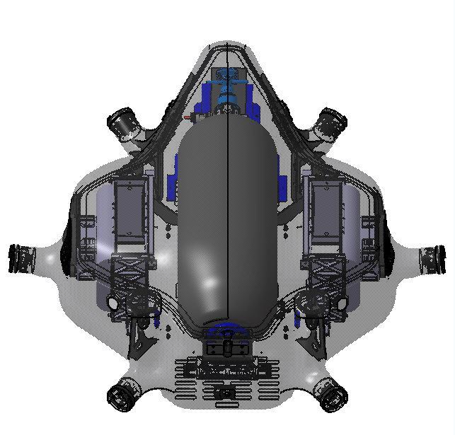 4.機身設計有效保護燃料電池系統