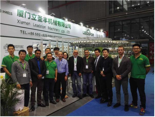 2016 ITMA ASIA 紡機展丨立圣豐技術創新,引爆全場